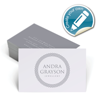 Customisable Business Cards - Designer Range # 1